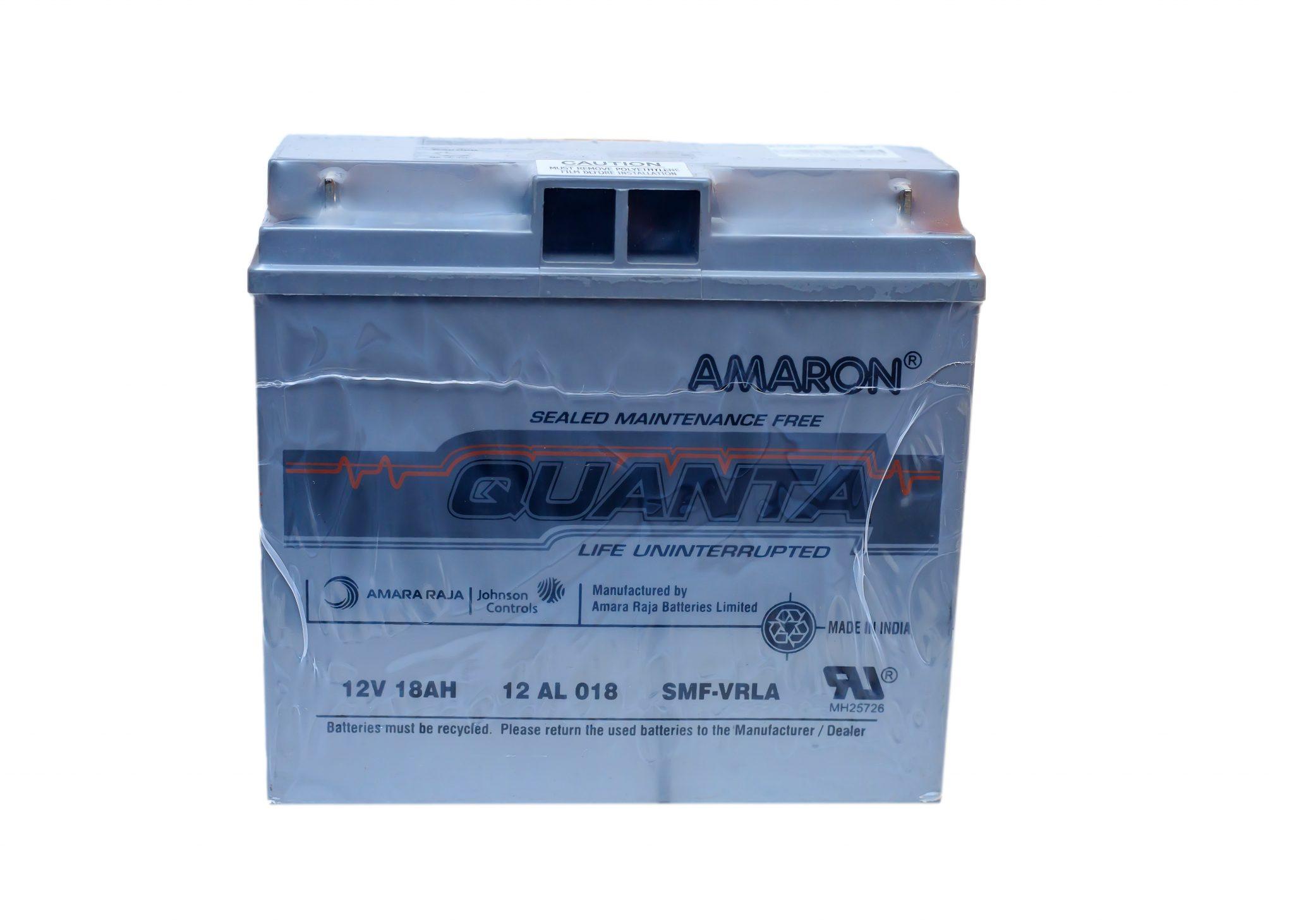 AMARON QUANTA 18AH/12V UPS BATTERY